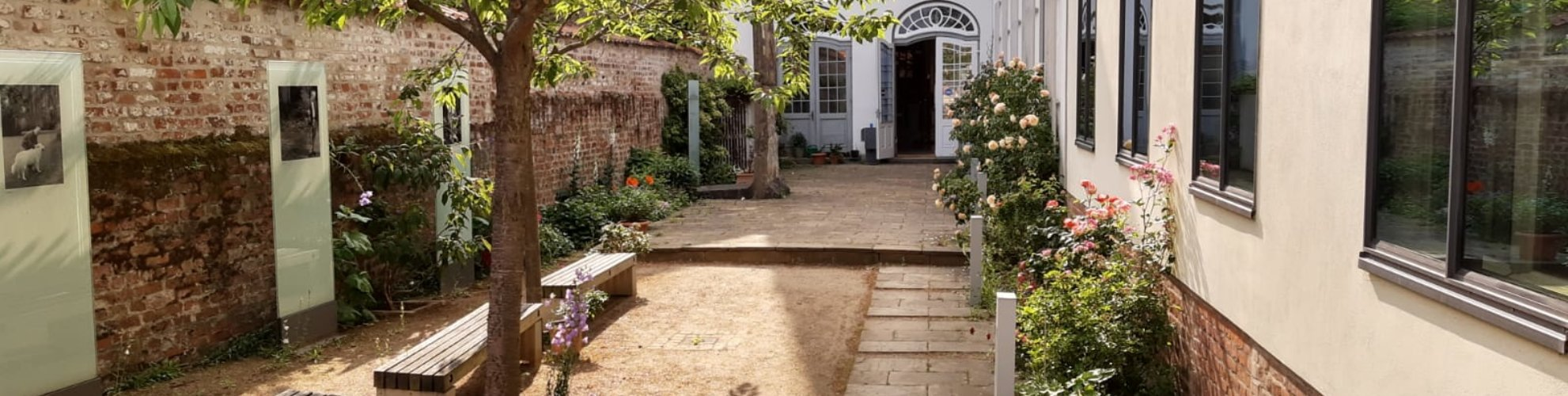 Willy-Brandt-Haus | Gartenanlage