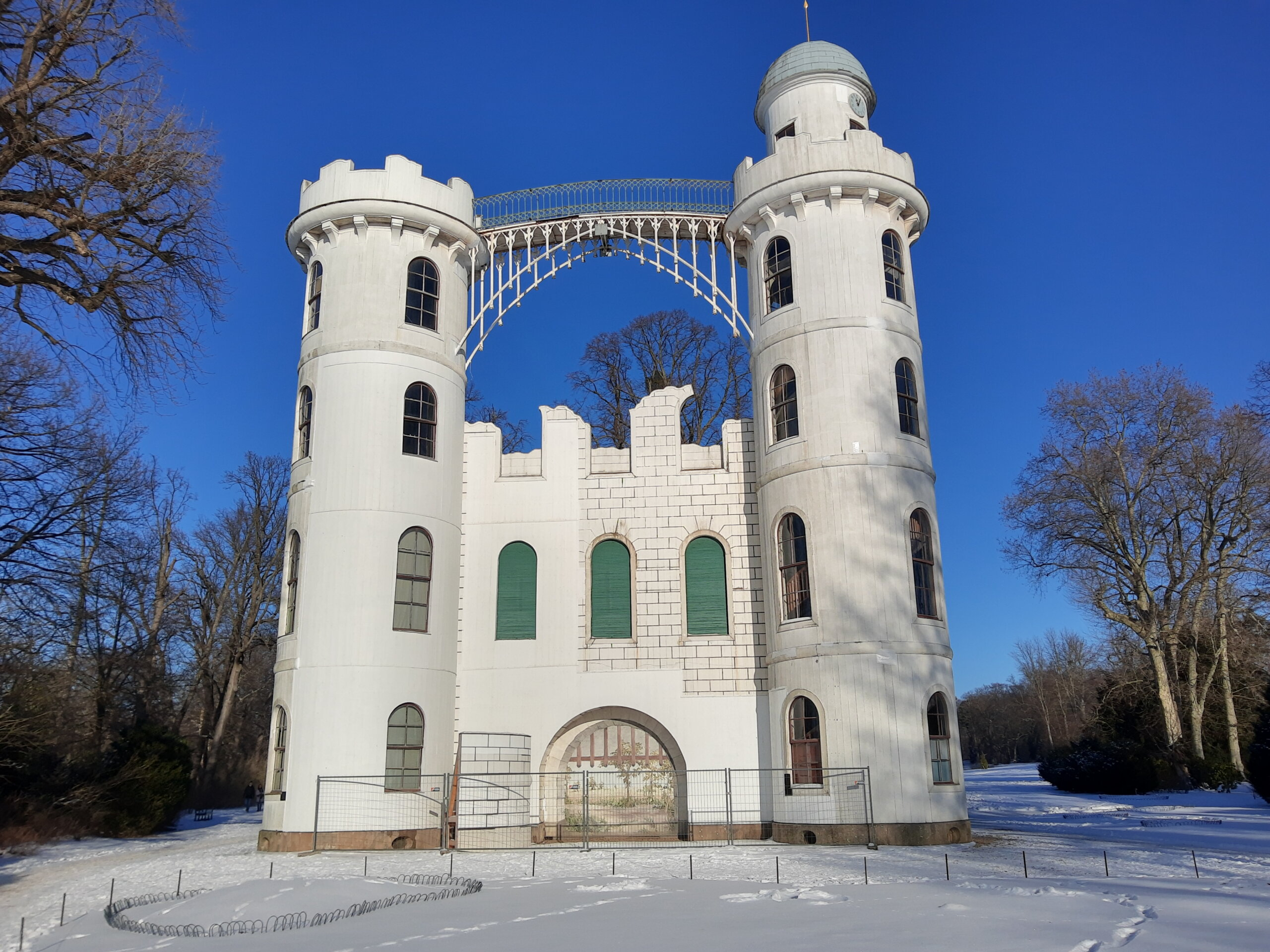 Schloss 18. Jahrhunderts vom Zimmermeister Johann Gottlieb Brendel