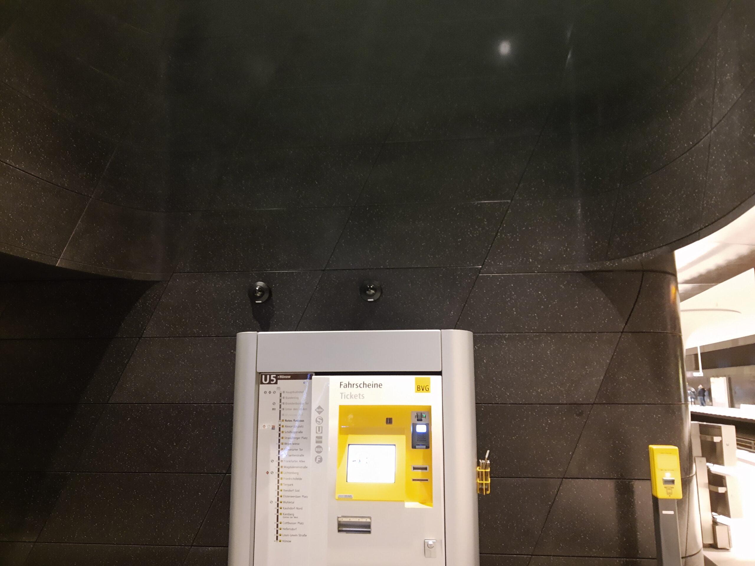 Rotes Rathaus Fahrkartenautomat
