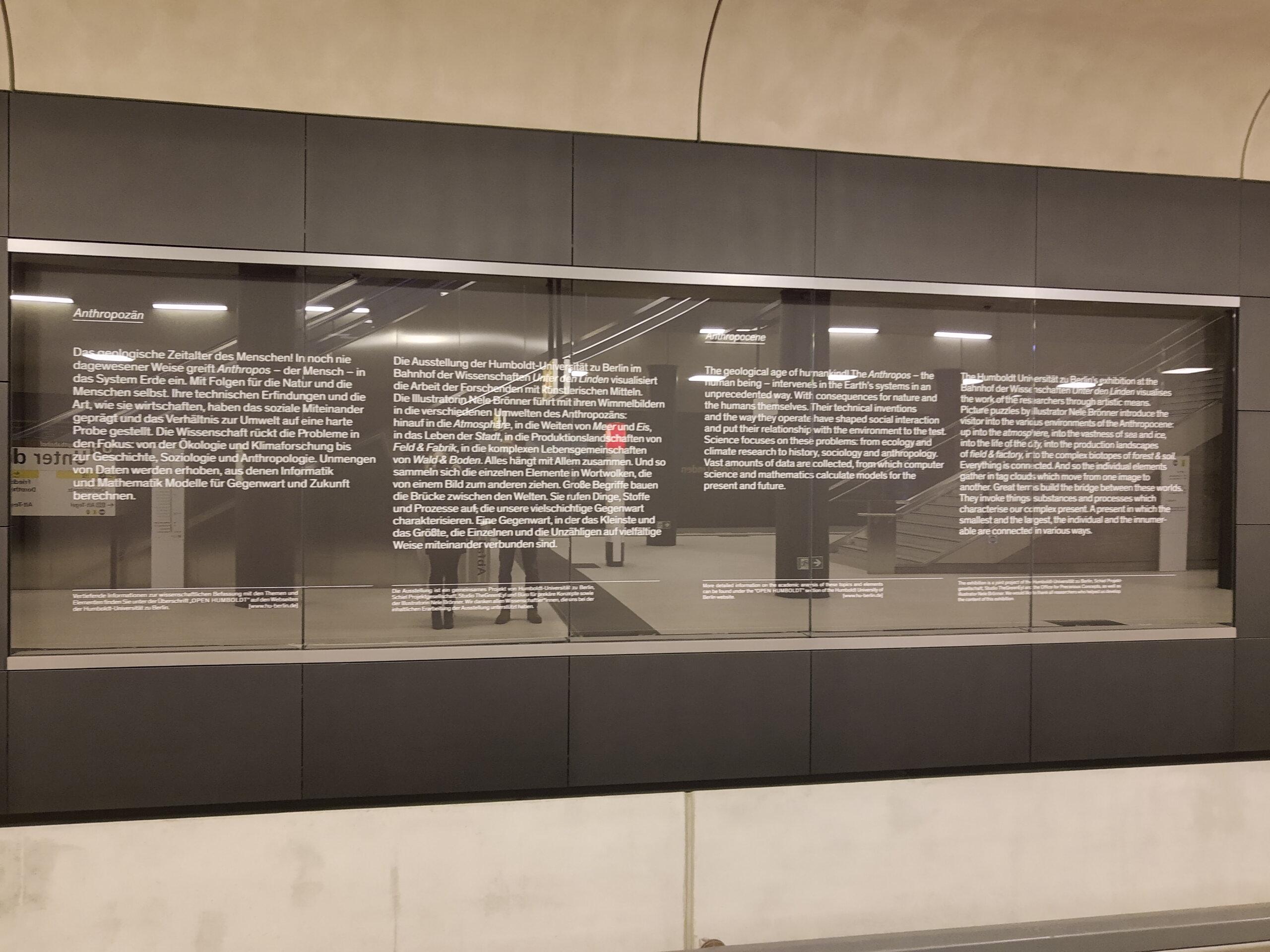 Unter dn Linden Geschichts Wand